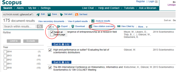 View citation overview in Scopus